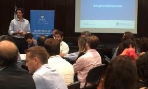 Producción organizó el primer encuentro interministerial sobre emprendedores