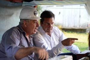 """Massa pidió recuperar el ferrocarril para """"tener un país federal"""""""