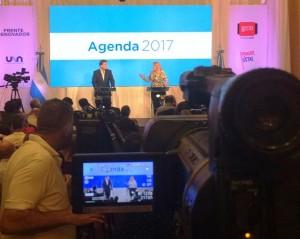 Massa y Stolbizer presentaron agenda conjunta para el 2017, pero evitaron hablar de un frente electoral