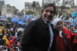 Máximo Kirchner repartió elogios, a Randazzo, Felipe Solá y Monzó