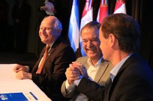 Con el foco puesto en tres sectores productivos, gobernadores potenciarán acciones conjuntas