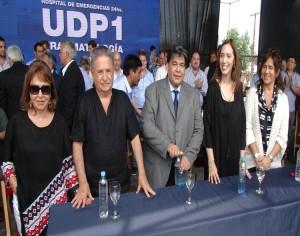 En acto con liturgia peronista, Vidal se mostró junto a los viejos barones