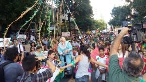Ley de bosques: Tras las críticas de Cartez, Raly rebatió la ofensiva ruralista y Piñón Fijo bancó a Doña Jovita