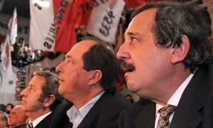 Ernesto Sanz preocupado por el acercamiento de Alfonsín con Massa