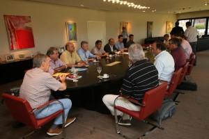 En reunión presidida por Schiaretti, Provincia y entidades del campo acuerdan agenda común de trabajo