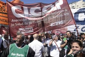Médicos bonaerenses cerca del paro por falta de acuerdo con el Gobierno de Vidal