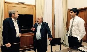 El viceministro del Interior le abrió la puerta a dirigentes del PJ