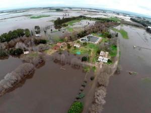 Por un informe, se advierte que el Gobierno desestimó el problema de las inundaciones