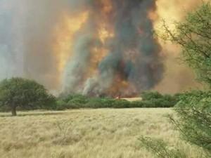 Advierten que gran parte del país está en llamas