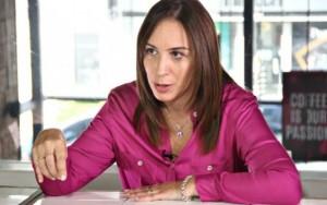 """Vidal afirmó que no trabaja """"para ser Presidenta"""" del país"""
