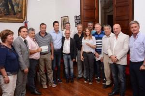 Los Consorcios Canaleros de San Justo recibieron aportes económicos de la Provincia