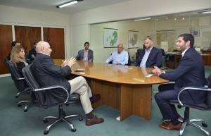 Interés de empresarios que hacen negocios con los Emiratos Árabes por la producción salteña