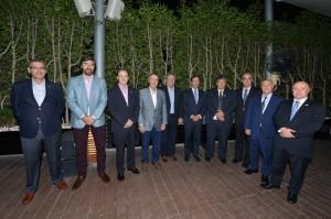 Encuentro de Schiretti con empresarios argentinos de la carne vacuna en Dubai