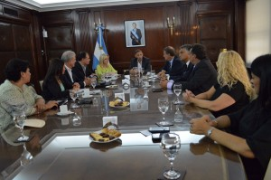 Ley de bosques: Legisladores cordobeses de Cambiemos se reunieron con Bergman