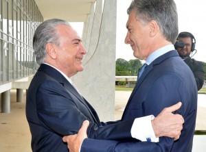 Tras reunirse con Temer, Macri anunció que el Mercosur tendrá estándares únicos