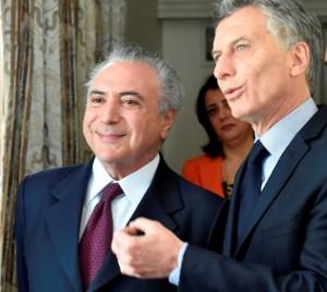 La Argentina y Brasil firmaron un convenio de cooperación por inversiones