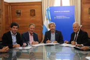 Fruto del acuerdo con Córdoba y Santa Fe, Nación financiará obra en el Canal San Antonio por $771 millones
