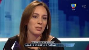 Vidal destacó que ganar las legislativas le dará más respaldo en la gestión