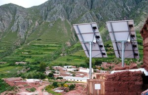 Se instalarán más de 9 mil paneles solares para familias que viven en zonas rurales