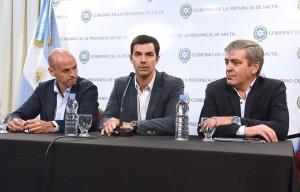 Urtubey y Dietrich explicaron los alcances de la inversión en obras de transporte para Salta