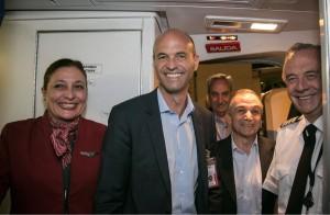 Dietrich reafirmó que la decisión del Gobierno es duplicar el mercado aéreo de cabotaje