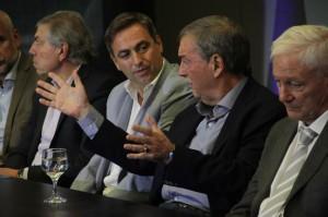 Junto a Mestre, Schiaretti dio detalles de lo que será el nuevo Centro de Convenciones en Ferial