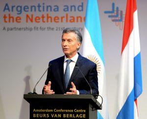 Ante empresarios holandeses, Macri destacó las potencialidades de la Argentina