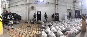 Devastan droga secuestrada por el Fuero de Lucha contra el Narcotráfico