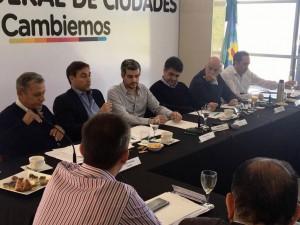 Cambiemos lanzó Foro Federal de Intendentes con Peña y Frigerio