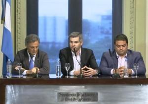 """Al sostener que hay sectores que """"necesitan que fracase el cambio"""", Peña apuntó a CFK"""