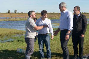 Gobierno asegura que habrá ayuda financiera y subsidios para productores de zonas inundadas