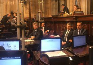 Senado: Inflación, Industria y Venezuela, entre los temas expuestos por Peña