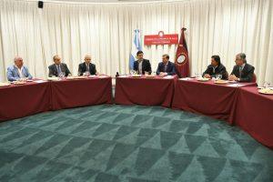 Con la premisa de fortalecer la institucionalidad, Urtubey abrió nueva ronda de diálogo con referentes políticos