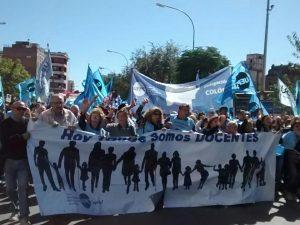 La UEPC adhirió al paro docente de este martes en repudio a la represión policial en CABA
