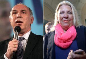 """Lorenzetti intimó a Carrió y la diputada contragolpeó con un pedido de juicio político al apuntar a las """"mafias"""""""