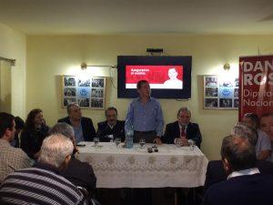 """Legislativas: En presentación de propuestas, Rossi afirmó que  """"no habrá dedo para conformar las listas"""""""