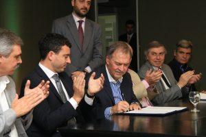 """En nombre del """"cambio de paradigma en la Argentina"""", Schiaretti y De Loredo destacaron trabajo en conjunto Nación-Provincia"""