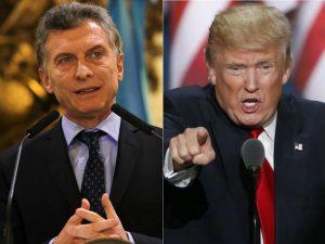 Los presidentes Macri y Trump se reunirán en Washington el 27 de abril