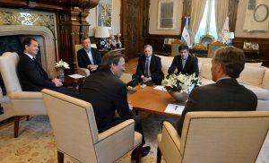 Empresa de servicios petroleros le anunció a Macri una inversión de USD 390 millones