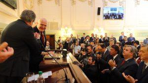 """Deuda/Coparticipación: """"Hay voluntad de llegar a una solución acordada"""" con la Nación, sostuvo Lifschitz"""