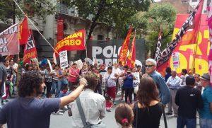 La Izquierda se moviliza por el juicio político a los jueces del 2×1 y contra la represión