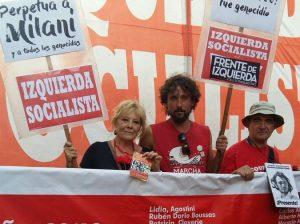 """Polémica en el FIT/PASO: Olivero (IS) llamó """"a abandonar esta equivocada postura de Del Caño y el PTS"""""""