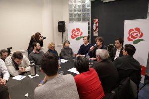 De cara a las Legislativas, el socialismo porteño respalda la candidatura de Lousteau