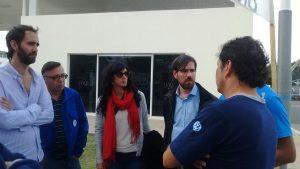 Del Caño apoyó a sus precandidatos en la interna del FIT y se solidarizó con los trabajadores de Volkswagen