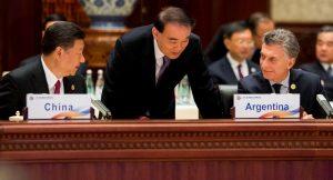 """Al coincidir con Xi Jinping, Macri abogó por """"una arquitectura de cooperación económica global abierta y equilibrada"""""""