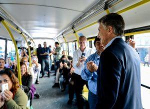 «Se está generando empleo formal en la Argentina», afirmó Macri