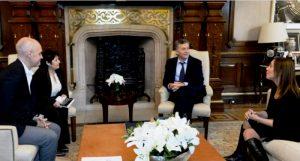 Macri, Vidal y Larreta sellaron la llegada de Ocaña a Cambiemos