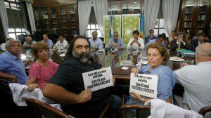 """Paritaria: Rechazo """"rotundo"""" de los gremios docentes a propuesta """"superadora"""" del Gobierno de Vidal"""