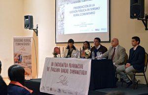 Se desarrolla el encuentro para potenciar el turismo rural comunitario