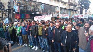 Apoyo de la CGT nacional y popular y otros gremios, a la protesta de los choferes de UTA